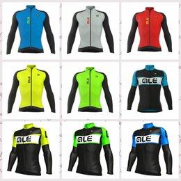 $enCountryForm.capitalKeyWord Australia - ALE team Mens long sleeves tops cycling jersey Top brand outdoor Sportswear road bike racing shirt Q81705