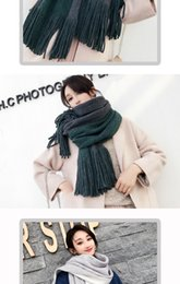 $enCountryForm.capitalKeyWord UK - Scarf female autumn and winter Korean version thickened all-in-one male student lovers ins heart less ladies warm neck in winter
