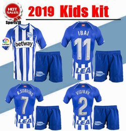 $enCountryForm.capitalKeyWord NZ - 2019 kids kit Deportivo Alavés boy Uniforms Children Soccer Sets IBAI BURGUI SOBRINO LAGUARDIA Munir Youth Alaves Soccer Jersey