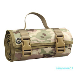 Wholesale Wholesale-Outdoor Mat Tactical Shooting Mat Waterproof Lightweight Roll-Up Nylon Remote Training Shooting Pad Cushion