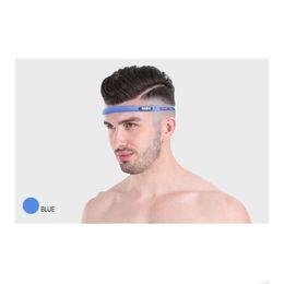 e13b007401137 Silicone Workout Belt Yoga Non Slip Anti-Sweat Band Moisture-Wicking Unisex Headband  Perspiration Movement Strap Hair Head  72033