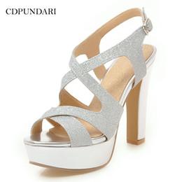 $enCountryForm.capitalKeyWord Canada - Cdpundari Gold Silver Super High All Sandals Women's Platform Sandals Ladies Summer Shoes Black White Y19070603