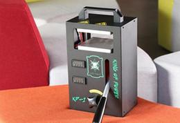 Oil Equipment NZ - ROSIN heat press machine temperature adjustable extracting tool for pure oils dab oil vape machine extractor equipment