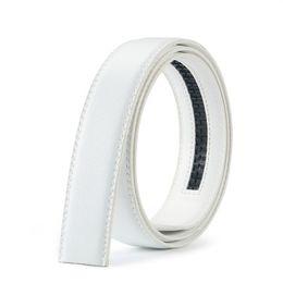 Canvas Cow Prints UK - 2019-49 Men's 2-layer leather 3.5 Men's belt automatically buckles headless cow belt