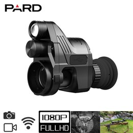Wholesale Outdoor night hunting scope Pard NV007 1080P 4x-14x Zoom 200m IR Detection Distance More than 8h Battery Life WIFI supported with APP
