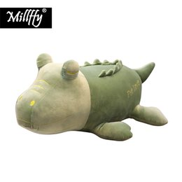 Crocodiles Alligator Toys Australia - 1pc New arrival peluche super soft toy crocodile stuffed animal plush alligator cushion pillow for baby kids children