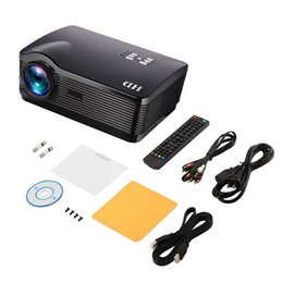 wifi av tv Australia - HD Projector 3000ansi Lumens Android HDMI USB SD AV VGA 1280*768 Home Theater Zoom Support Wifi Wireless Network PC Function car