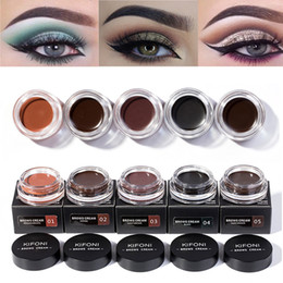 $enCountryForm.capitalKeyWord Australia - Makeup Eyebrow Dye Gel Waterproof Shadow For Eye Brow Long Lasting Tint Shade Make Up Paint Pomade Cosmetic with brush