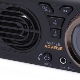 $enCountryForm.capitalKeyWord Australia - AV252B 12V Bluetooth 2.1 + EDR Vehicle MP3 Audio Player Car Stereo FM Radio with USB   TF Card Port