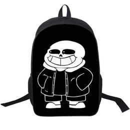 $enCountryForm.capitalKeyWord UK - Sans backpack Undertale skull brother day pack Sansy game school bag Durable packsack Photo rucksack Sport schoolbag Outdoor daypack