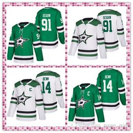 $enCountryForm.capitalKeyWord Australia - Cheap Dallas Stars jerseys 91 Tyler Seguin 14 Jamie Benn Hockey Jerseys Embroidery Logos free shipping