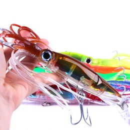$enCountryForm.capitalKeyWord NZ - 14cm   40g Fishing Lures 5 Types Baits Artificial Hard Squid Skirts Octopus Trolling Baits With Hook Rig Fishing Tackle