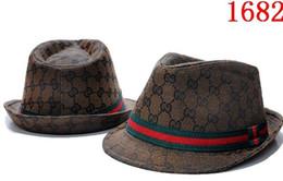 Free Man Hat Australia - Fashion Bowler Designers Leather Letter Bucket Hat For Mens Womens Foldable Caps Black Fisherman Beach Sun Visor Sale Folding Man Bowler Cap
