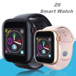 Bluetooth Smart Watch Sim Australia - Z6 Smartwatch For Samsung Android Smart Watch Bluetooth 3.0 watches with camera Supports SIM TF Card for android smart phone DZ09 A1