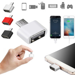 flashing tablets 2019 - 3 Colors Micro USB to USB OTG Adapter 2.0 Converter For Tablet PC to Flash Mouse Keyboard cheap flashing tablets