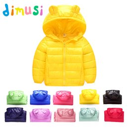 $enCountryForm.capitalKeyWord NZ - DIMUSI Autumn Winter Boys Jackets Fashion Cotton Thick Windbreaker Coats Baby Girls Casual Outwear Children Hooded 13 Colors 8T