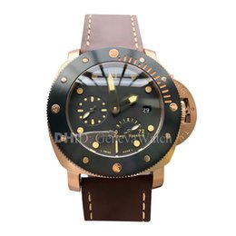 Mens Luxury Watches Leather Band Australia - Mens Designer Watches Sport Fashion Montre De Luxe Rose Gold 316L Stainless Steel Case Brown Leather Band Mechanical Automatic Watch Man
