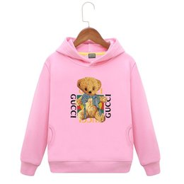 Full Clothes UK - Female Boys Even Cap Loose Coat Thickening Small Children's Clothes 2018 New Pattern Autumn And Winter Baby Child Plus Velvet Hat Shirt
