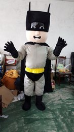Wholesale 2018 Factory sale hot Batman cartoon doll Mascot Costume