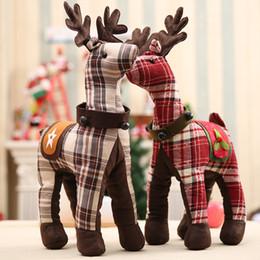 $enCountryForm.capitalKeyWord NZ - Christmas Day Window Decoration Fabric Doll Medium Cartoon Elk Reindeer Desktop Office Decoration Christmas toys