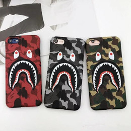 shark phone NZ - Fashion Cool High Quality Shark Case For iPhone8 8plus 7 6 6s Plus Shark Army Phone Case Cover For iPhoneX