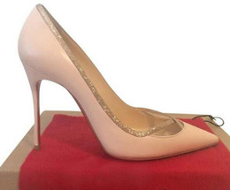 high heel pumps red soles NZ - 2019 NEW Designer red bottom pump Patent leather Pigalle Heels WOMEN wedding shoes pointed toe fine heels sexy woman red sole high heels
