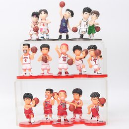 $enCountryForm.capitalKeyWord Australia - oys Hobbies Action Toy Figures 8cm 5pcs set Slam Dunk action Figures Japanese Anime Figure Basketball Toys Sakuragi Hanamichi Pvc Cartoon...