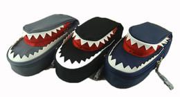 Pen children gift online shopping - Shark Style Kids Pencil Case For Boys Zipper Children Pouch Bag Student Pen Box For Primary School Bag Accessory