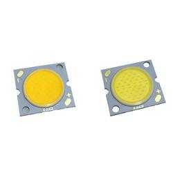 9W 12W 15W 20W 30W haute puissance COB puce émettant de la lumière dirigée zone 300mA DC31-102V 17MM 20MM 23MM diode COB en Solde