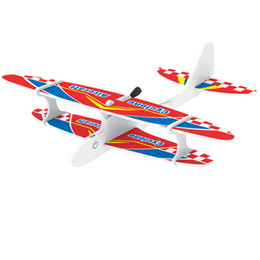 $enCountryForm.capitalKeyWord Australia - Glider Planes Flying Airplane Gliders Toys Foam Plane Models Party Bag, Carnival Prizes, Outdoor Games for Kids Boys Girls