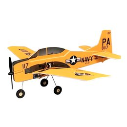 fixed wing helicopter NZ - MinimumRC T-28 Trojan 360mm Wingspan 3 Channel Trainer Fixed-wing RC Airplane KIT PNP Outdoor Toys For Children Kids Gifts
