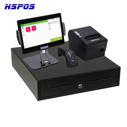 Touch screen prinTer online shopping - Hot Sale Android Pos Payment Terminal Inch Touch Screen With Scanner And Thermal Printer Cash Drawer For Supermarket Store