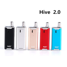 $enCountryForm.capitalKeyWord Australia - Yocan Hive 2.0 Concentrated Oil 2-in1 Mod Kit with VV 650 510 Thread Box Mod Dry Herb Herbal Wax Atomizer Thick Oil Vape Cartridge Vaporizer