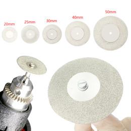 $enCountryForm.capitalKeyWord NZ - 20-50mm Diamond Cutting Discs & Drill Bit Mini Circular Saw For Rotary Tool Dremel Stone Blade