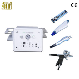microdermabrasion machine diamond medical Australia - Portable salon and home use hydrafacial machine microdermabrasion diamond blackheads removal oxygen jet rf skin tightening salon equipment