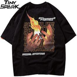 $enCountryForm.capitalKeyWord Australia - Men Hip Hop T Shirt Streetwear Matchstick Fire Flame T-shirt Summer 2019 Harajuku Tshirt Cotton Short Sleeve Tops Tee Skateboard Y19072201