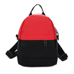 Male canvas bags online shopping - Female Champion Bag Outdoor Sports Knapsack Male Double Shoulder Strap Backpack Canvas Trend Blue Gray Wear Resistant yh C1