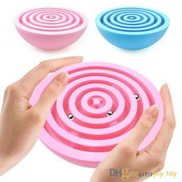 Labyrinth Games Australia - balance labyrinth ball Maze Puzzle Hemisphere Brain Teaser Labyrinth Intelligent Board Game Toys for Children and Adults