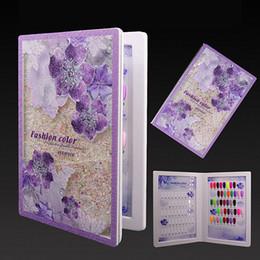 $enCountryForm.capitalKeyWord NZ - Nail Display Book Gel Polish Art Card Book Acrylic Beauty Purple Nail Salon Colors Showing Board Chart Manicure tools 80 Colors