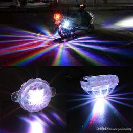 Lampada universale dell'automobile LED del motociclo telaio coda del laser luci di nebbia della luce LED posteriore antinebbia Parcheggio stop del freno di avvertimento con l'imballaggio al dettaglio in Offerta