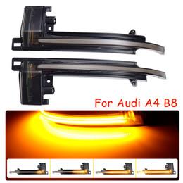 Опт Включить сигнал сигнала для Audi A4 A5 B8.5 B8 RS5 RS3 A3 8P S5 RS4 A6 Q3 A8 8K зеркальный свет