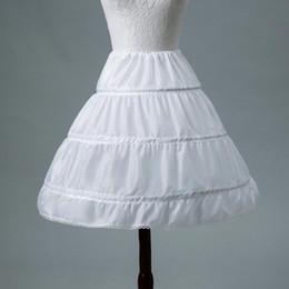 $enCountryForm.capitalKeyWord Australia - White Children Petticoats Short For Flower Girl Dress Slit 2018 Wedding Accessories Girls Kids Crinoline Underskirt