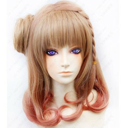 Wholesale amnesia cosplay for sale - Group buy Amnesia Hero Cosplay Costume Party Brown Wig