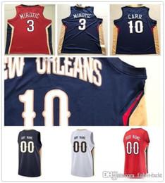 987f2fa0e8a Custom 2019 Basketball Jersey New Orleans Anthony Nikola Davis Mirotic  Julius Elfrid Randle Payton Jahlil Jrue Okafor Holiday Pelicans Men J