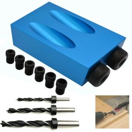 37x Pocket Hole Screw Jig with Dowel Drill Set Carpenters Wood Joint Tools