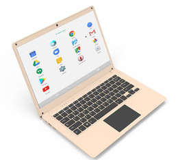 android laptop netbook NZ - 14 inch quad core 64 bit A64 Android netbook WIFI laptop wholesale