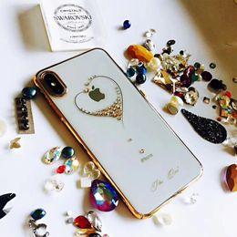 $enCountryForm.capitalKeyWord Australia - Original KAVARO Rhinestones Case For Apple iPhone X  XS  XS MAX  XR Cases Crystal Swarovski Element Cover For iPhone XS MAX Case