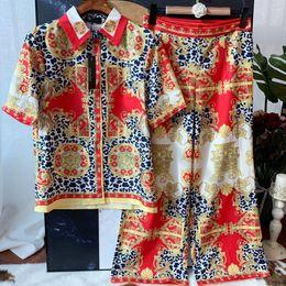 $enCountryForm.capitalKeyWord NZ - 2019 summer dresses women s clothing 2 piece set women two piece pants sets Lapel shirt top + high waist straight pants women clothes