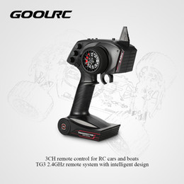 Wholesale Rc Transmitter For Rc Car Boat Original Goolrc Receiver With Digital Tg3 ghz ch Car Accessories Remote Control With Receiver J190719