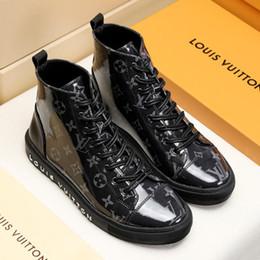 $enCountryForm.capitalKeyWord Australia - Fashion Ankle Boots for Men Winter Leather Men Boots Casual Shoes Rubber Platform Leather Mens Work Boots Plus Size M#19 Hot Sale